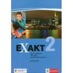 Język niemiecki, Exakt 2. Podręcznik z płytą CD, szkoła ponadgimnazjalna