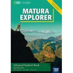 Język angielski Matura explorer Advanced - podręcznik, szkoła średnia