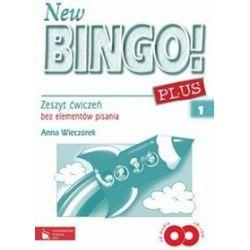 Język angielski. New Bingo! Plus 1 - zeszyt ćwiczeń bez elementów pisania, klasa 1, szkoła podstawowa - Anna Wieczorek