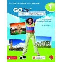 Język angielski. GO International! 1 - podręcznik, klasa 4-6, szkoła podstawowa - Claudia Bianchi, Barbara Ściborowska, Mark Tulip