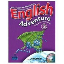 Język angielski. English Adventure 3 - podręcznik z ćwiczeniami, klasa 1-3, szkoła podstawowa - Anne Worrall