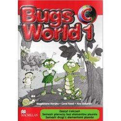 Język angielski. Bugs World 1 - zeszyt ćwiczeń 1C, szkoła podstawowa - Magdalena Kondro