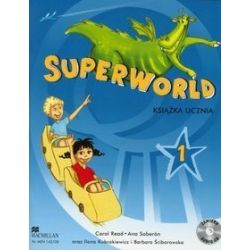 Język angielski, Superworld 1 - podręcznik, klasa 1-3, szkoła podstawowa - Carol Read, Ana Soberon