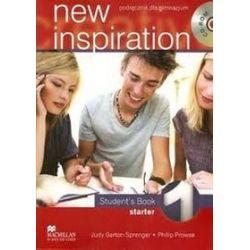 Język angielski, New inspiration 1. Student`s Book + CD, gimnazjum - Judy Garton-Sprenger, Philip Prowse
