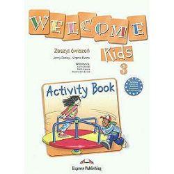 Język angielski. Welcome Kids 3. Activity Book, klasa 1-3, szkoła podstawowa - Jenny Dooley, Virginia Evans