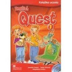 Język angielski, English Quest 1- podręcznik, szkoła podstawowa - Jeanette  Corbett, Magdalena Kondro, Roisin Murphy