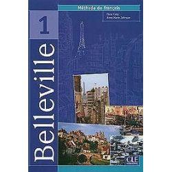 Język francuski. Belleville 1 Livre l'eleve. Methode de francais, szkoła średnia - F. Cuny