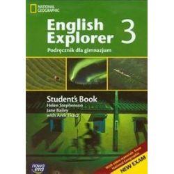 Język angielski. English explorer 3 - podręcznik, gimnazjum - Helen Stephenson, Arek Tkacz