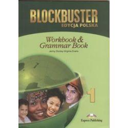 Język angielski. Blockbuster 1. Workbook & Grammar, gimnazjum - Jenny Dooley, Virginia Evans