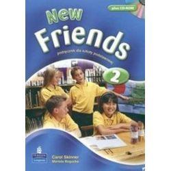 Język angielski, New Friends 2 - podręcznik, klasa 4-6, szkoła podstawowa - Mariola Bogucka, Carol Skinner