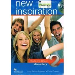 Język angielski. New Inspiration 2. Student`s Book + CD - Judy Garton-Sprenger, Philip Prowse