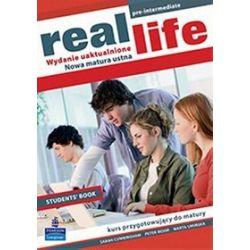 Język angielski, Real Life Pre-Intermedate - podręcznik, wydanie uaktualnione, szkoła ponadgimnazjalna