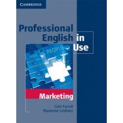Język angielski. Professional English in Use Marketing. Wydanie z kluczem, szkoła wyższa - Marianne Lindsley