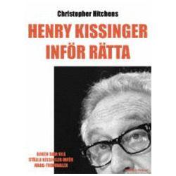 Henry Kissinger inför rätta - Christopher Hitchens - Bok (9789185000142)