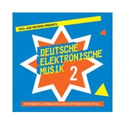 Musik: Deutsche Elektronische Musik 2-(2)  von Soul Jazz Records Presents