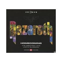 Musik: Homecoming-Greatest Hits Live (CD+DVD)  von Nazareth