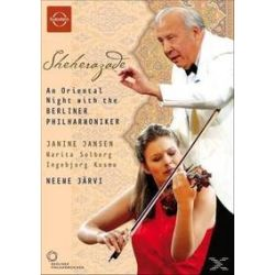 Musik: Sheherazade  von Järvi, Berliner Philharmoniker, Jansen, Solberg, Kosmo, Janine Jansen, Marita Solberg, Ingebjorg Kosmo