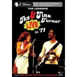 Musik: The Legends Live In 71 (DVD+CD)  von Ike And Tina Turner, Ike
