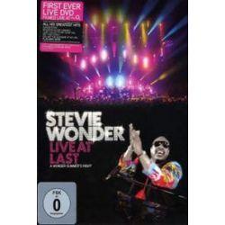 Musik: Steve Wonder - Live At Last (Digipak)  von Stevie Wonder