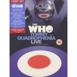 Musik: Tommy & Quadrophenia Live With Special Guests  von Ken Russell von The Who, Oliver Reed, Ann-Margret, Roger Daltrey, Elton John, Eric Clapton