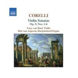 Musik: Violinsonaten op.5,Nr.1-6  von Lucy Van Dael, Bob van Asperen