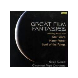 Musik: Great Film Fantasies (Mehrkanal)  von Erich Kunzel, Cincinnati Pops Orchestra