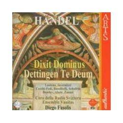 Musik: Dettingen Te Deum/Dixit Dominus  von Coro della Radio Svizzera, Svizzera Radio Chor, Ensemble Vanitas