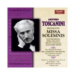 Musik: Missa Solemnis  von Arturo Toscanini, Westminster Choir, NBC Sym.Orch.