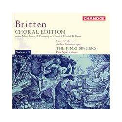 Musik: Britten Choral Edition Vol.2  von The Finzi Singers, Paul Spicer, Susan Drake