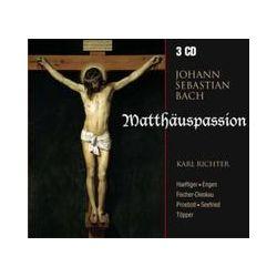Musik: Bach: Matthäuspassion,BWV 244 (Gesamtaufnahme)  von Dietrich Fischer-Dieskau, Ernst Haeflinger