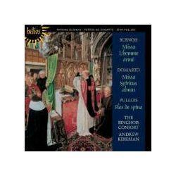 Musik: Missa Lhomme Arme/Missa Spiritus Almus  von Andrew Kirkman, The Binchois Consort