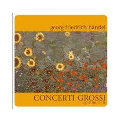 Musik: Concerti Grossi op.6 1-8  von Georg Friedrich Händel