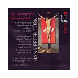 Musik: Siebenbürgische Passionsmusik für Karfreitag  von Philippi, C. Brödel, Meiáner Kantorei 1961