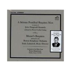 Musik: Requiem  von Erich Leinsdorf, Boston Symphony Orchestra