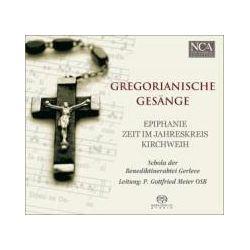 Musik: Gregorianische Gesänge  von Schola der Benediktinerabtei Gerleve, Meier
