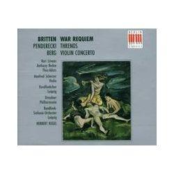 Musik: War Requiem/Threnos/Viol.Konz.  von T. Adam, H. Scherzer, H. Kegel