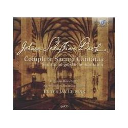 Musik: Complete Sacred Cantatas  von Holland Boys Choir, Pieter Jan Leusink