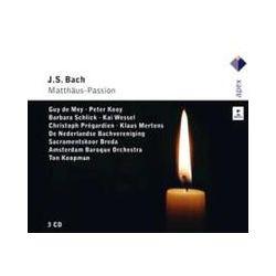 Musik: Matthäus-Passion BWV 244  (GA)  von Ton Koopman