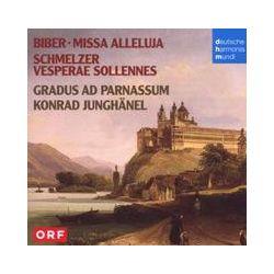 Musik: Biber,Schmelzer: Missa Alleluja/Vesperae Sollen  von Konrad Junghänel