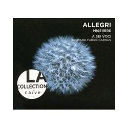 Musik: La Collection Naive-Misere/Messe/Motette  von A Sei Voci, Bernard Fabre-Garrus