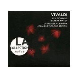 Musik: La Collection Naive-Nisi Dominus/Stabat Mater/+  von Lemieux, Jaroussky, Spinosi, Ensemble Matheus