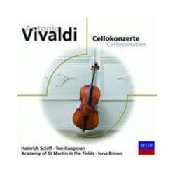 Musik: Cellokonzerte  von Schiff, Brown, AMF