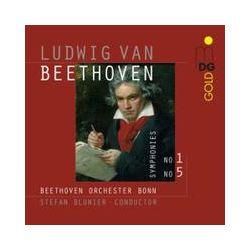 Musik: Beethoven: Sinfonie 1 & 5  von Stefan Blunier, Beethoven Orchester Bonn