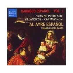 Musik: Barroco Espanol Vol.1  von Al Ayre Espanol, Al Ayre Español