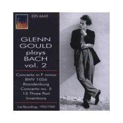Musik: Glenn Gould Spielt Bach,Vol.2  von Gould, Goldschmidt, Mishakoff, Tripton, Paray