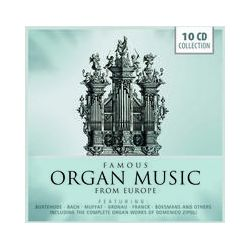Musik: Famous Organ Music from Europe  von Vogel, Radulescu, Ghielmi, SLUYS