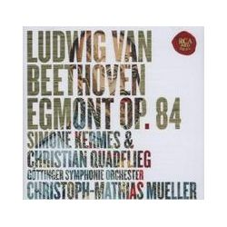 Musik: Beethoven: Egmont,Op. 84 & Ah perfido!,Op. 65  von Kermes, Quadflieg, Göttinger Symph. Orch, Mueller