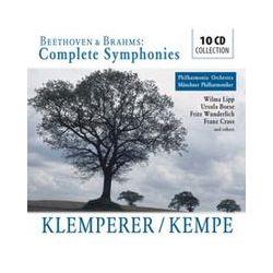 Musik: Beethoven/Brahms: Complete Sinfonies  von Klemperer, Kempe