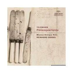 Musik: Flötenquartette  von Musica Antiqua Köln, Reinhard Goebel, Mak
