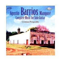 Musik: Barrios: Sämtliche Gitarrenmusik  von Cristiano Porqueddu